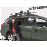 Yakima Ski and Snowboard Racks Review - 2013 Subaru Outback Wagon
