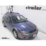 Yakima FrontLoader Roof Bike Rack Review - 2006 Subaru Outback Wagon