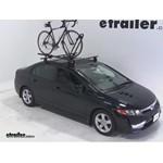 Yakima FrontLoader Roof Bike Rack Review - 2007 Honda Civic