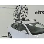 Yakima FrontLoader Roof Bike Rack Review - 2010 Hyundai Elantra