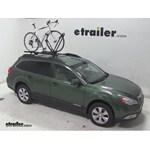 Yakima FrontLoader Roof Bike Rack Review - 2011 Subaru Outback Wagon