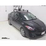 Yakima FrontLoader Roof Bike Rack Review - 2013 Mazda 3