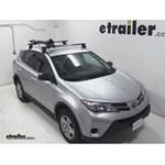 Yakima FrontLoader Roof Bike Rack Review - 2013 Toyota RAV4