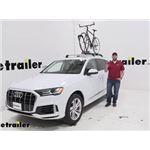Yakima Roof Bike Racks Review - 2020 Audi Q7