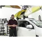 Yakima JayLow Kayak Carrier Review - 2020 Mitsubishi Outlander Sport