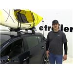 Yakima JayLow Kayak Carrier Review - 2017 Kia Forte5