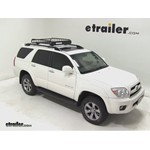 Yakima LoadWarrior Roof Cargo Basket Review - 2007 Toyota 4Runner