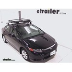 Yakima LoadWarrior Roof Cargo Basket Review - 2012 Honda Civic