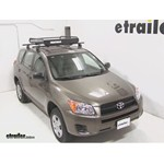 Yakima LoadWarrior Roof Cargo Basket Review - 2012 Toyota RAV4