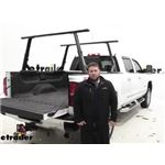 Yakima OverHaul HD Adjustable Truck Bed Ladder Rack Installation - 2017 Chevrolet Silverado 2500