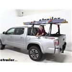 Yakima OverHaul HD Adjustable Truck Bed Ladder Rack Installation - 2020 Toyota Tacoma