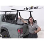Yakima OverHaul HD Adjustable Truck Bed Ladder Rack Installation - 2021 Toyota Tacoma