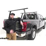 Yakima OverHaul HD Adjustable Truck Bed Ladder Rack Installation - 2020 Ford F-250 Super Duty