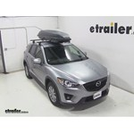 Yakima RocketBox Pro 11 Rooftop Cargo Box Review - 2015 Mazda CX-5