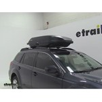 Yakima RocketBox Pro 14 Rooftop Cargo Box Review - 2011 Subaru Outback Wagon