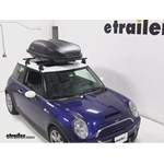 Yakima RocketBox Pro 12 Roof Cargo Box Review - 2004 Mini Cooper