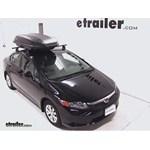 Yakima RocketBox Pro 14 Rooftop Cargo Box Review - 2012 Honda Civic