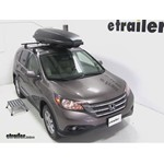Yakima RocketBox Pro 11 Rooftop Cargo Box Review - 2012 Honda CR-V