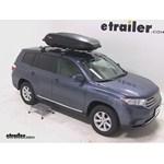 Yakima RocketBox Pro 14 Rooftop Cargo Box Review - 2012 Toyota Highlander
