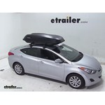 Yakima RocketBox Pro 14 Rooftop Cargo Box Review - 2013 Hyundai Elantra
