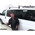 Yakima Roof Rack Installation - 2017 Chevrolet Express Van