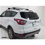 Yakima Roof Rack Installation - 2018 Ford Escape