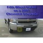 Fifth Wheel Hitch Installation - 2007 Chevy Silverado