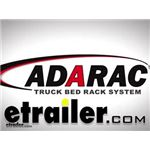 Adarac Custom Steel Truck Bed Ladder Rack Manufacturer Installation