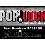 Pop and Lock Custom Tailgate Handle with Lock Manufacturer Demo