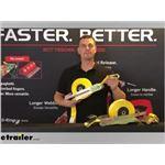 Quickloader Flat Hook Retractable Ratchet Straps Manufacturer Demo