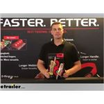 Quickloader S-Hook Retractable Ratchet Straps Manufacturer Demo