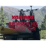 Yakima BedRock HD Truck Bed Cargo Rack Manufacturer Product Tour