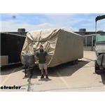 Adco Travel Trailer Polypropylene Storage Lot RV Cover Review