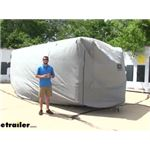 Adco Bumper Pull Trailer SFS AquaShed Cover Review