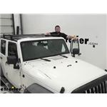 Aries Jeep Hardtop Square Crossbar Roof Rack Review