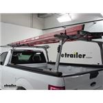 Thule TracRac SR Sliding Truck Bed Ladder Rack Base Rails Review