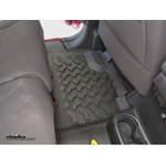 Bestop Custom Rear Floor Liner Review - 2014 Jeep Wrangler Unlimited