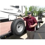 Brophy Trailer Stake Pocket Spare Tire Carrier Review