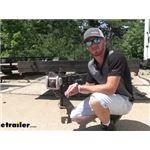 EZ Lock Bulldog Collar-Lok Trailer Coupler Lock Review
