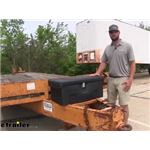 Buyers Products Utility Storage Box Review