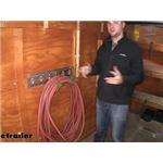 CargoSmart E-Track or X-Track System Hose and Cord Holder Review