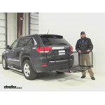 Carpod  Hitch Cargo Carrier Review - 2011 Jeep Grand Cherokee