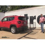 Carpod  Hitch Cargo Carrier Review - 2015 Jeep Renegade