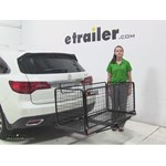 Carpod  Hitch Cargo Carrier Review - 2016 Acura MDX
