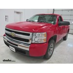 CIPA Custom Towing Mirrors Installation - 2009 Chevrolet Silverado