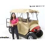 Classic Accessories Deluxe 4 - Sided Golf Cart Enclosure Review