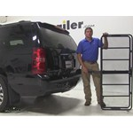 Curt 24x60 Hitch Cargo Carrier Review