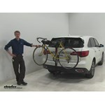 Curt  Hitch Bike Racks Review - 2016 Acura MDX