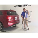 Curt 19x60 Hitch Cargo Carrier Review - 2015 Kia Sorento