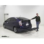 Curt  Hitch Cargo Carrier Review - 2012 Toyota Prius